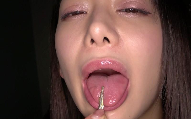 巨大女プレイ 〜咀嚼唾溜めプレイ〜 有村のぞみ10