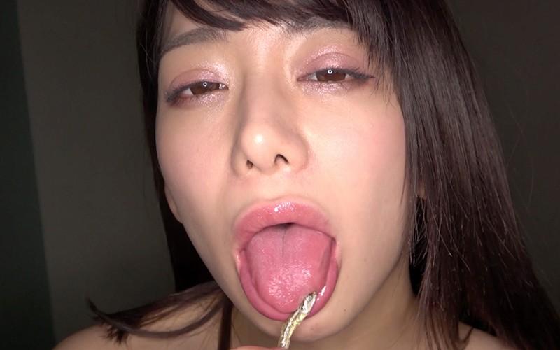 巨大女プレイ 〜咀嚼唾溜めプレイ〜 有村のぞみ9