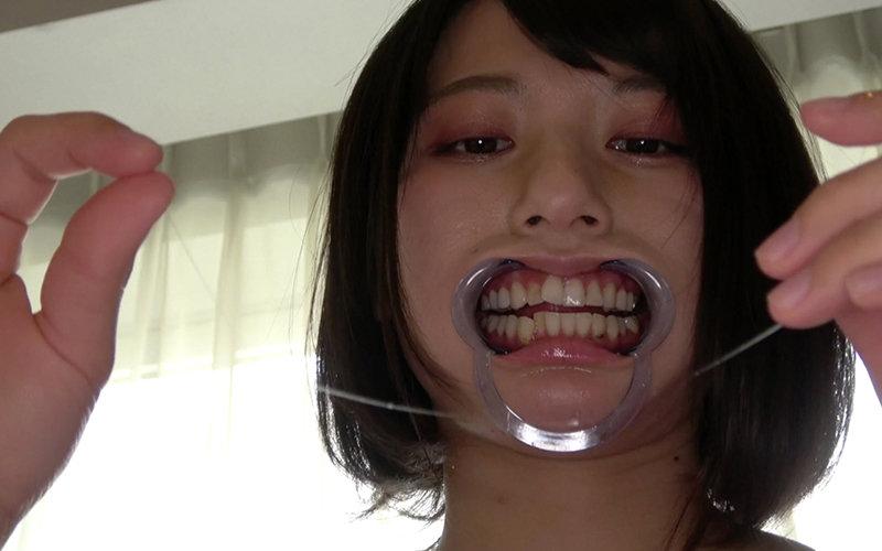 口内フェチ 〜歯・口内観察〜 霜月まどか 画像6