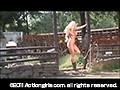 アクションガールズ 裸の女ガンマン Vol.2 【ヘア無●正版】sample8