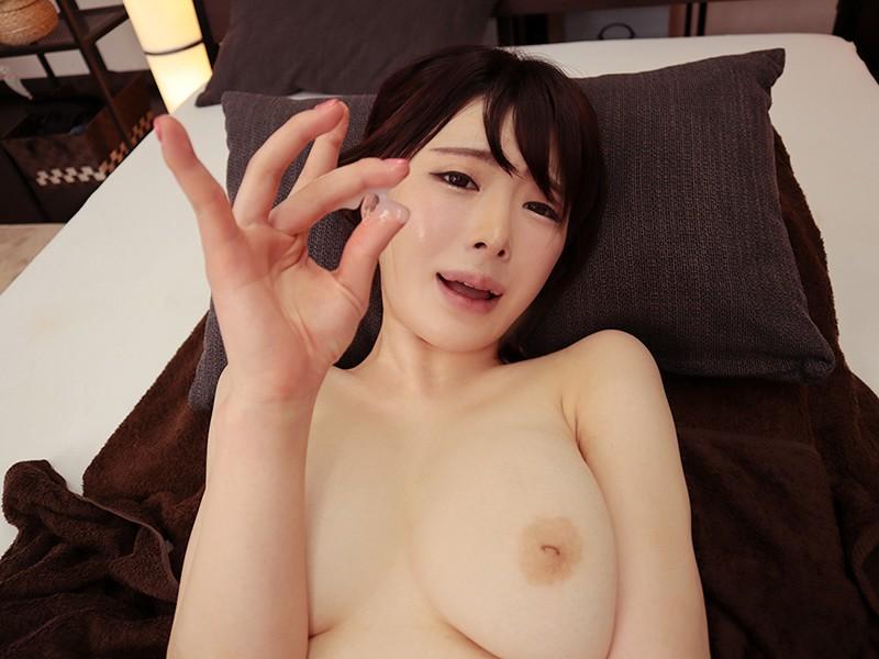 【VR】綺麗なお姉さんによる極上のテクニックで溜まった精子がドッピュドピュ...のサンプル画像