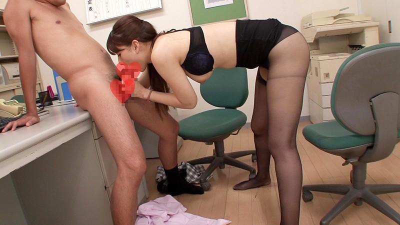 オフィスで挑発的なセクシーOLとエロ行為してしまいましたぁ!!! 大場ゆい7