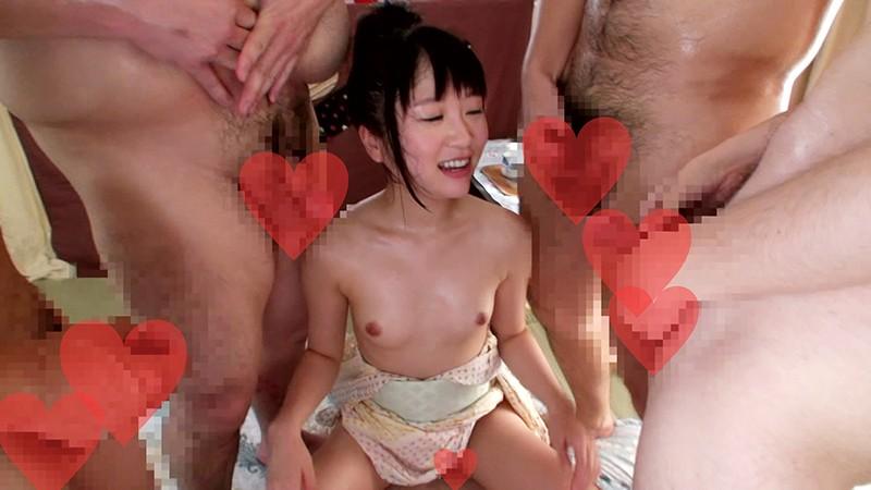 浴衣姿のちっぱい美少女にハメながら顔に精液ブッカケましたぁ〜!! 裕木まゆ 7枚目