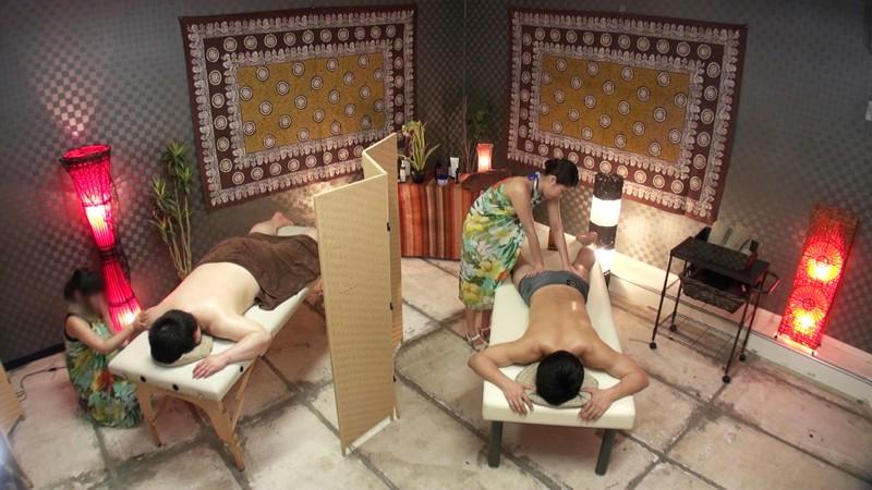 オイルマッサージをしていたお姉さんがパレオを脱ぎ捨てて、全裸でスケベな触れ合いサービスしてくれましたぁ!! 通野未帆