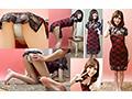 素人パンチラ in 自宅で個人撮影会 vol.010 セクシーチャイナドレス☆人妻モデル かなさんのサムネイル