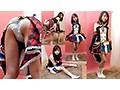素人パンチラ in 自宅で個人撮影会 vol.016 アイドル系ライブコスチューム◆素人モデル なっちゃん