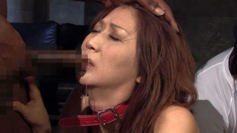 黒人にハメられたスレンダー熟女 吉岡奈々子 イラマチオに耐えられず吐き出す編8
