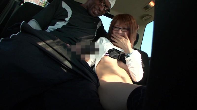 黒人が素人人妻をナンパしてSEXする映像 奈緒子さん29歳 画像8