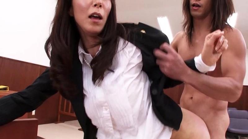 スレンダー美人人妻弁護士凌● 澤村レイコ 白目剥いてのぶっかけ編9