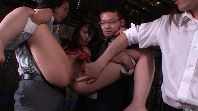 高飛車な熟女を監禁し躾します 管野しずか 牛乳浣腸編1