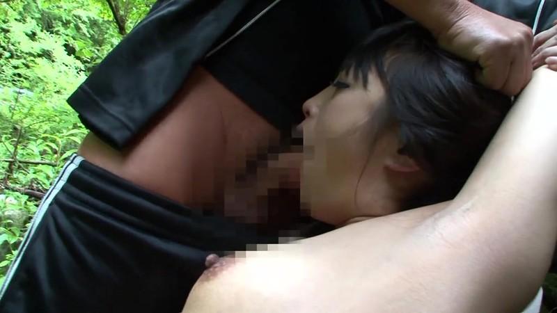 山中鬼ごっこ 男に捕まってやられる熟女 管野しずか フェラ輪●編 画像10