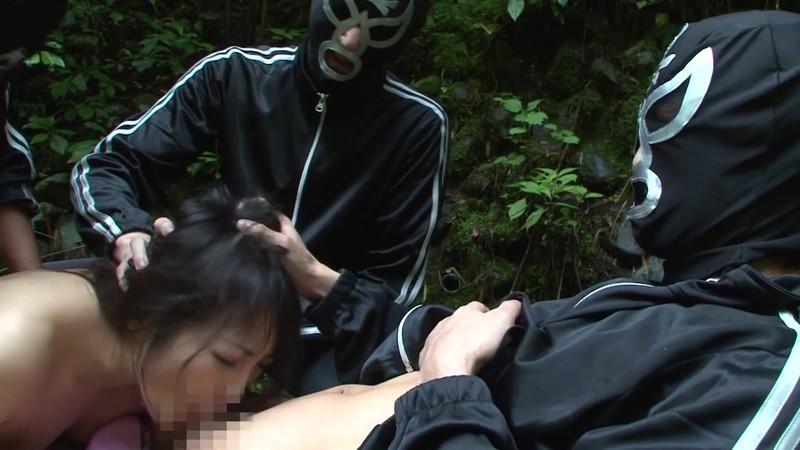 山中鬼ごっこ 男に捕まってやられる熟女 管野しずか フェラ輪●編 画像15