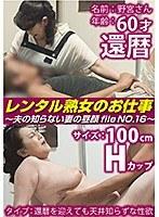 レンタル熟女のお仕事〜夫の知らない妻の裏の顔 file NO.16〜 ダウンロード