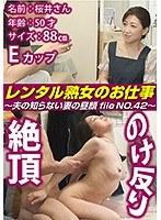 レンタル熟女のお仕事〜夫の知らない妻の裏の顔 file NO.42〜 ダウンロード