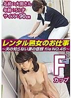 レンタル熟女のお仕事〜夫の知らない妻の裏の顔 file NO.45〜 ダウンロード