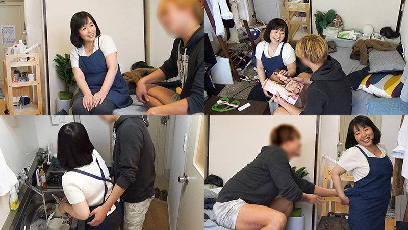 レンタル熟女のお仕事~夫の知らない妻の裏の顔 file NO.72~ キャプチャー画像 1枚目