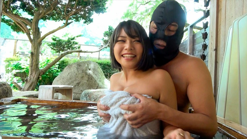 BANK-016 Studio Pussy Bank - Creampie In The Open-Air Hot Spring With Big Cock-Loving Shaved-Pussy H