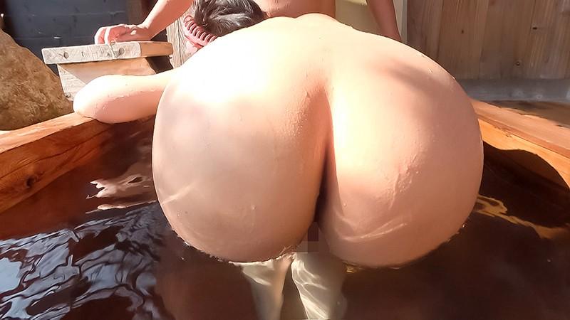 中出し露天温泉 国宝級マシュマロおっぱいIカップむっつりスケベなエロエロお姉さん2