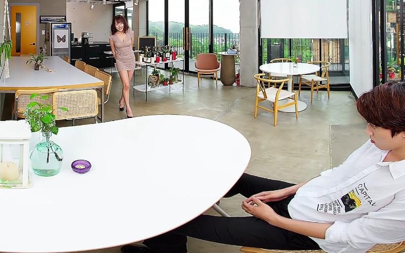 【VR】AV女優の同級生マオ 浜崎マオのサンプル画像