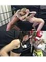 悶絶総合格闘技、キックボクシング003 神崎まゆみvs鮫島るい