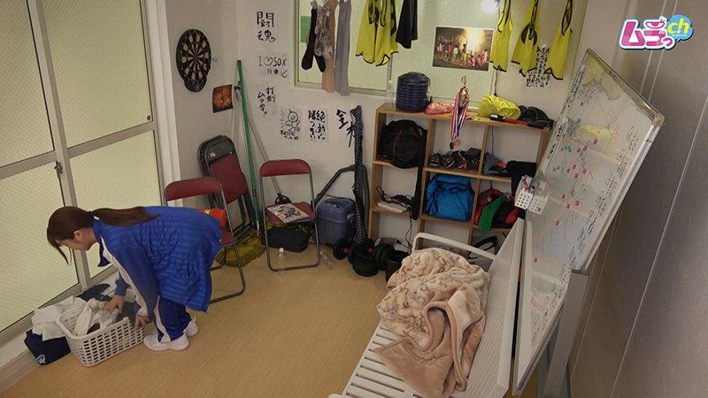 カップル盗撮 校内エッチにハマってしまった○校生カップルが放課後部室で誰かが来るかもしれない状況に興奮しまくるスリルSEX 画像1
