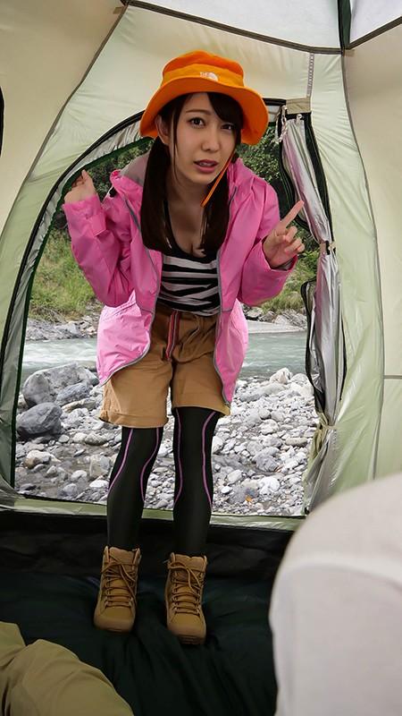 【VR】ソロキャンプ女子が熊に追われて俺のテントに転がり込んできた!!パニックVR!!孤独な男の夜にミラクル展開炸裂! 弥生みづき 2