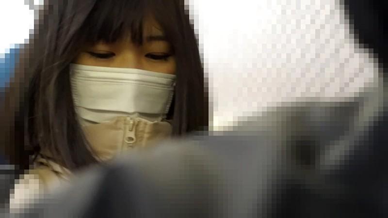 実録 電車痴漢映像 #003 須崎美羽 画像1