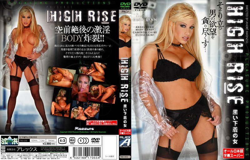 HIGH RISE 黒い下着の女 vol.2