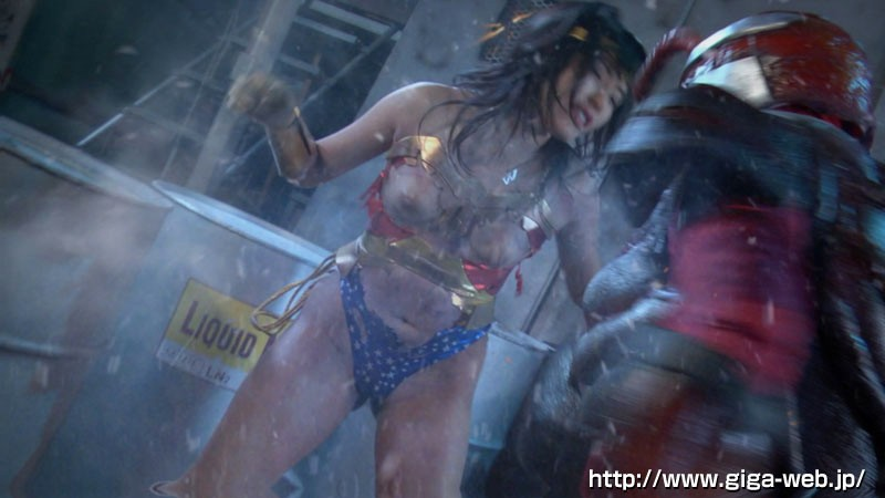 スーパーヒロインドミネーション地獄 鉄腕美女ダイナウーマン 水城りの 無料エロ画像12