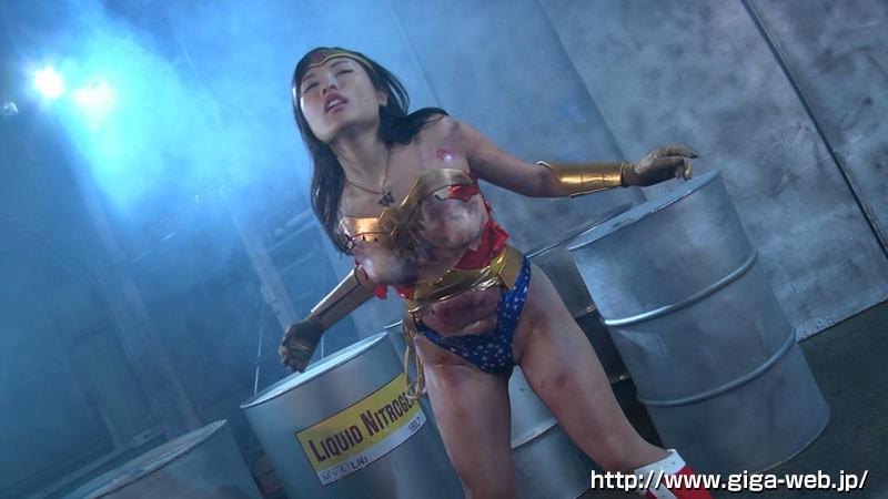 スーパーヒロインドミネーション地獄 鉄腕美女ダイナウーマン 水城りの 無料エロ画像13