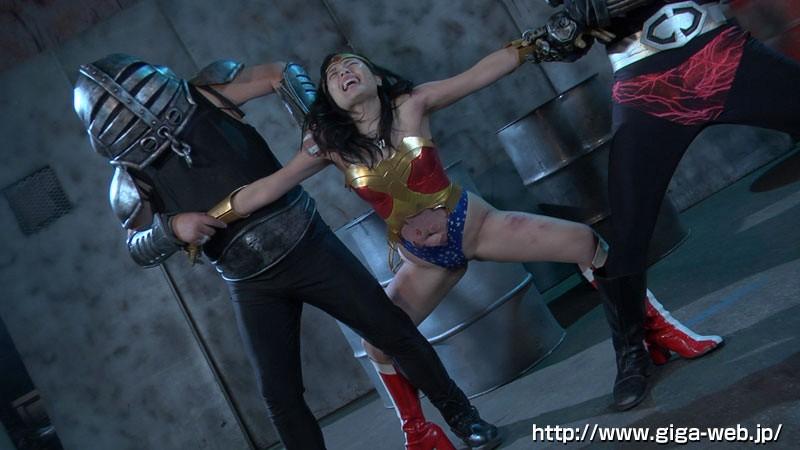 スーパーヒロインドミネーション地獄 鉄腕美女ダイナウーマン 水城りの 無料エロ画像9