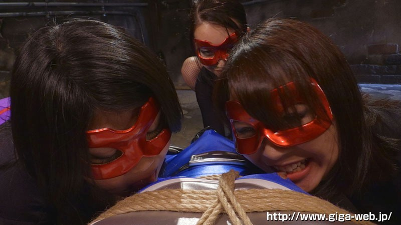 女戦闘員VS美少年ヒーロー 集団誘惑責め地獄7