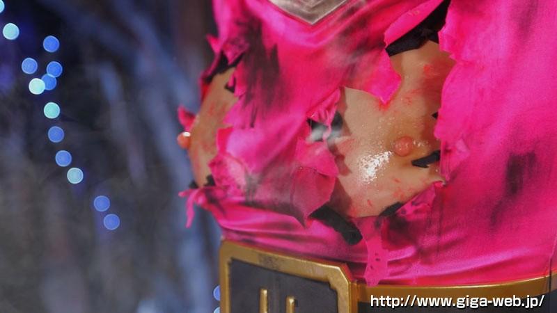 天勇戦隊ブレイブスリー ブレイブフェニックス 高飛車優等生ヒロイン 仲間と敵に徹底凌● 一ノ瀬恋9