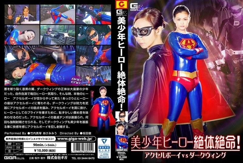美少年ヒーロー絶体絶命!アクセルボーイVSダークウィングのパッケージ画像