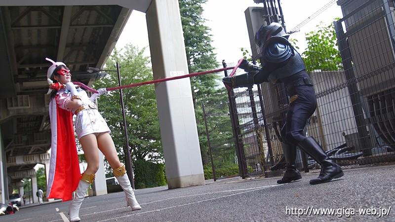 微乳ヒロイン 美少女仮面オーロラ 小谷みのり|無料エロ画像3