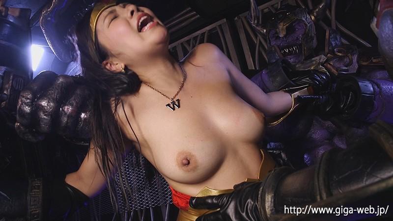 スーパーヒロインドミネーション地獄36 鉄腕美女ダイナウーマン 海空花|無料エロ画像14