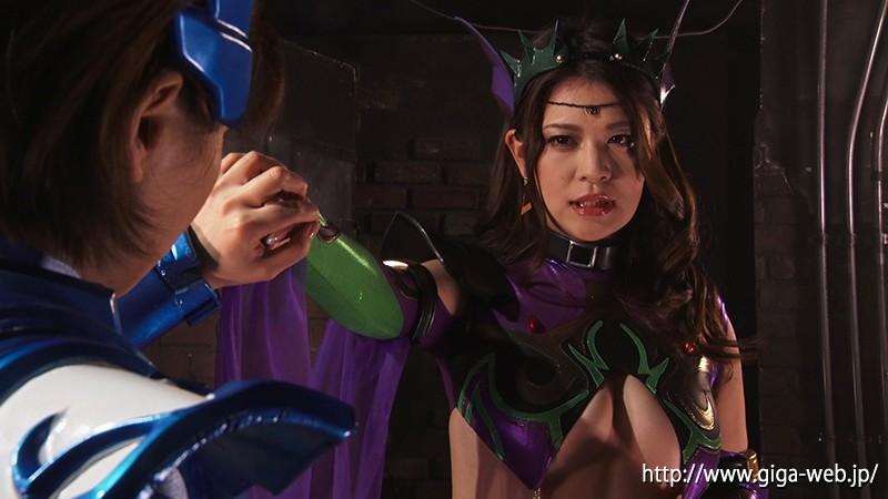 女幹部ポイズリー 最強非変身ヒーロー ドミネーション&陥落3
