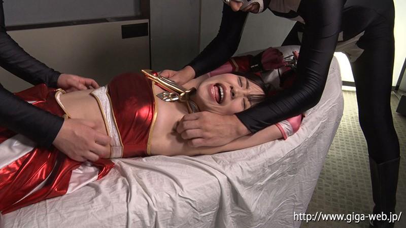 ヒロイン腋の下腋腹責め 美少女戦士チアナイツ 富田優衣10