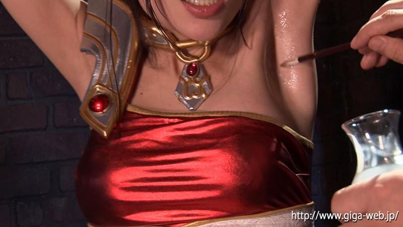ヒロイン腋の下腋腹責め 美少女戦士チアナイツ 富田優衣13