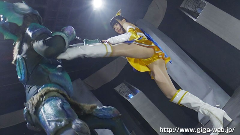 美少女戦士チアナイツ 触手凌●・丸呑み消化地獄 白咲碧 画像1