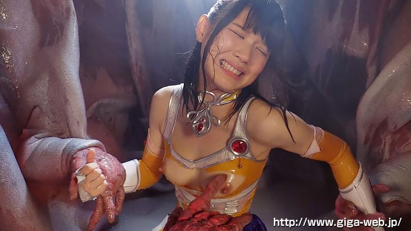 美少女戦士チアナイツ 触手凌●・丸呑み消化地獄 白咲碧 画像15