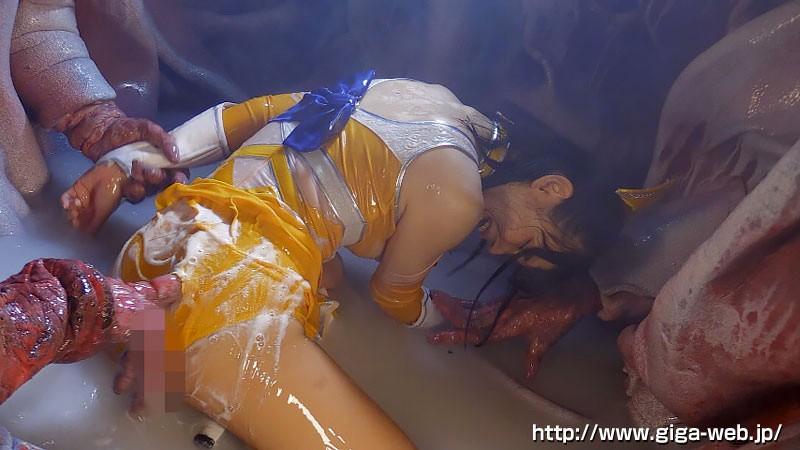 美少女戦士チアナイツ 触手凌●・丸呑み消化地獄 白咲碧 画像17