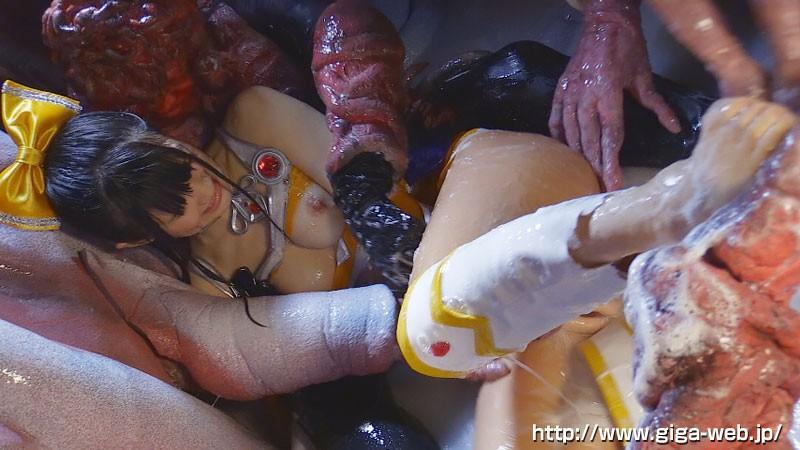 美少女戦士チアナイツ 触手凌●・丸呑み消化地獄 白咲碧 画像19