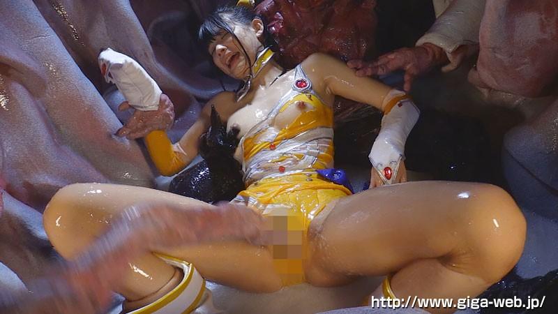 美少女戦士チアナイツ 触手凌●・丸呑み消化地獄 白咲碧 画像20
