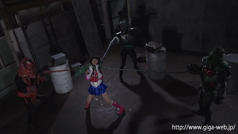 【G1】ヒロイン窒息地獄 女捜査官天堂月乃は美少女戦士セーラーディアナ 神楽アイネ 画像12