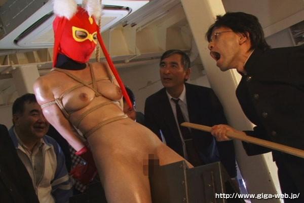 ヒロイン屈服 セクシー仮面編 波多野結衣15