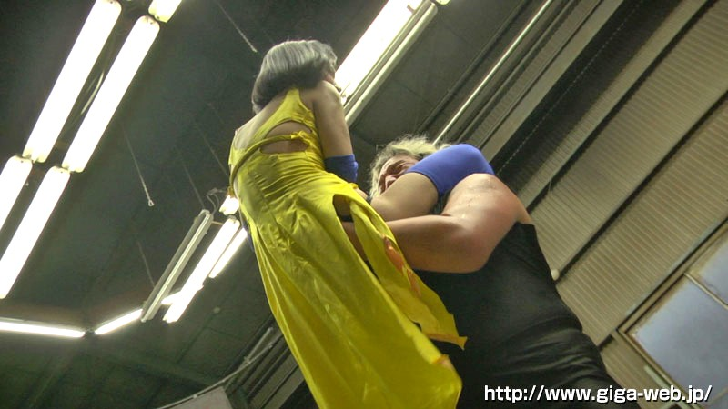 【G1】格闘女戦士失禁レ●プ-龍華- 星川麻紀10
