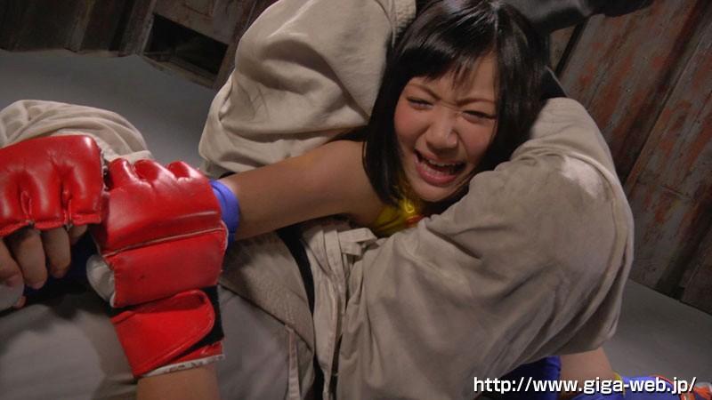 【G1】格闘女戦士失禁レ●プ-龍華- 星川麻紀8