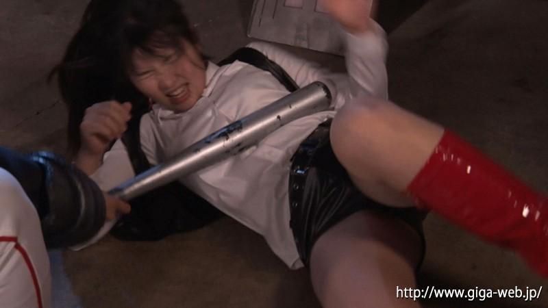 スーパーヒロイン危機一髪!!Vol.74 〜阻止せよソルジャーピンク! 爆弾マスクの爆破計画〜 海空花11
