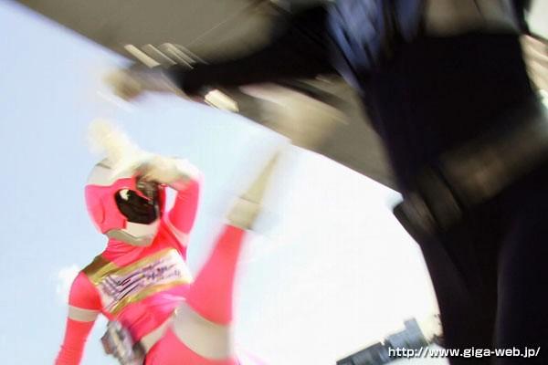 【#加瀬あゆむ】スーパーヒロイン絶体絶命!! Vol.38 超電装ガイアマン ガイアピンク 加瀬あゆむ[h_173thz00038][THZ-038] 9
